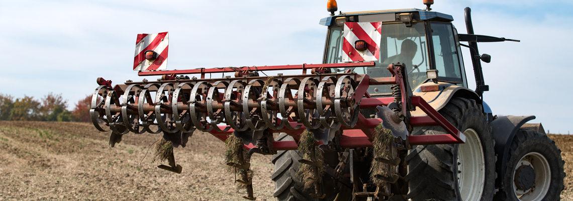 déchaumeur pour tracteurs